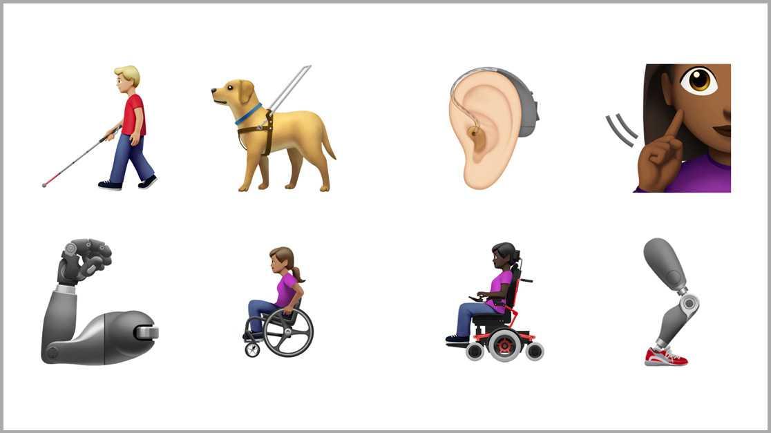 Apple und Google: Neue Emojis sorgen für mehr Diversität