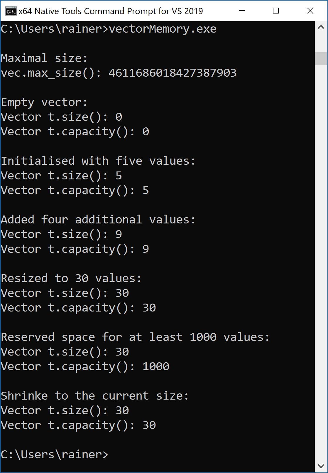 C++ Core Guidelines: Die Standard Bibliothek