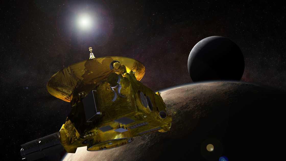 Zum Schluss zum (Zwerg-)Planeten: New Horizons seit 10 Jahren unterwegs
