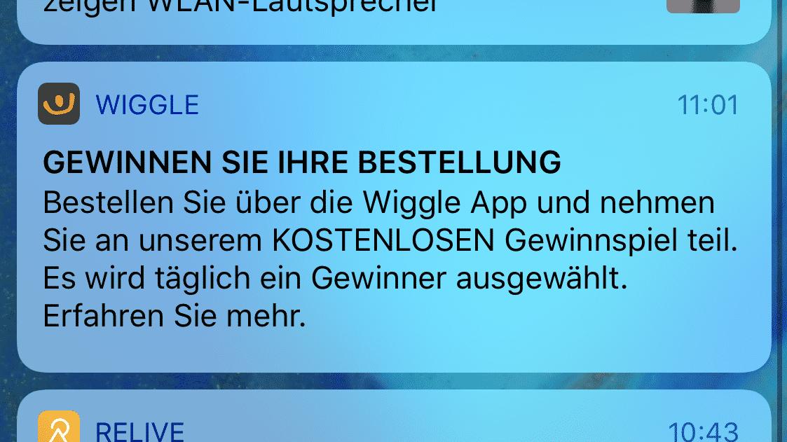 Mitteilungen iOS