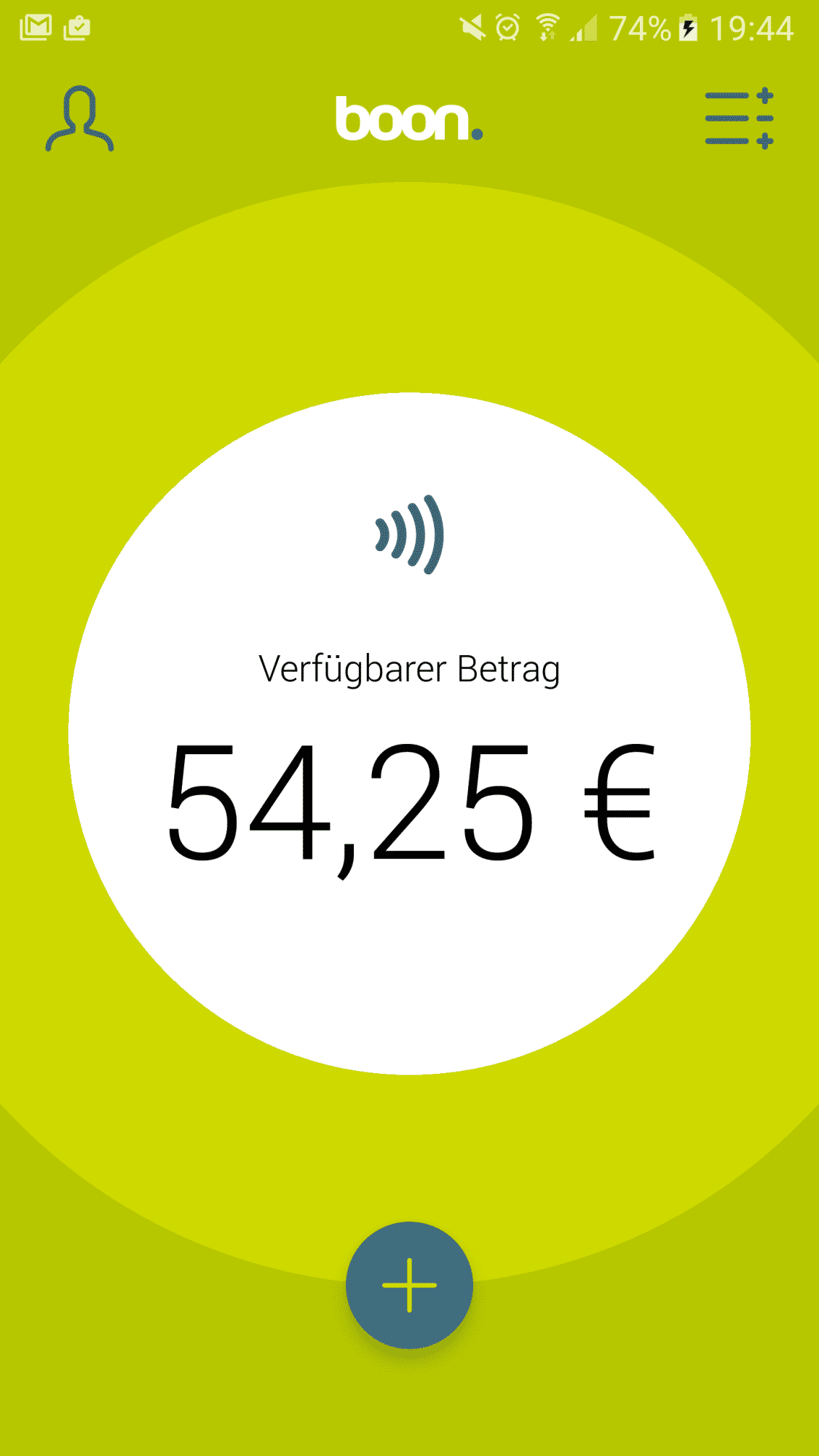 Mit der Android-App Boon kann man in den meisten Supermärkten bezahlen.