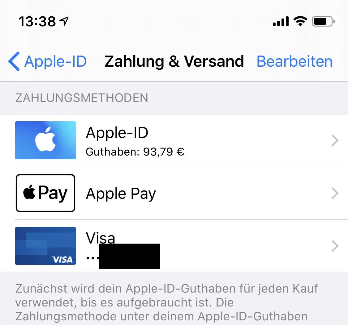Apple Pay Apple-ID