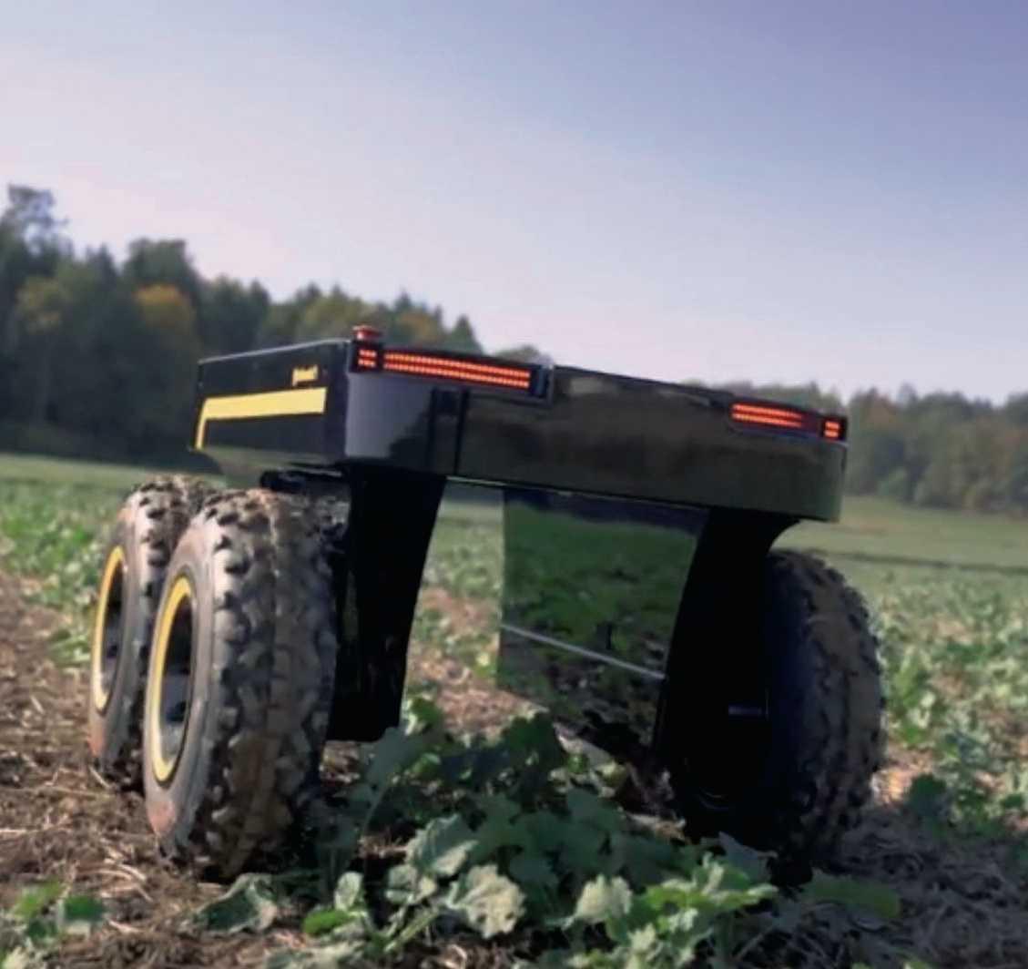 Mit dem Contadino hat Continental eine Plattform für autonome kleine Helfer auf dem Feld vorgestellt.