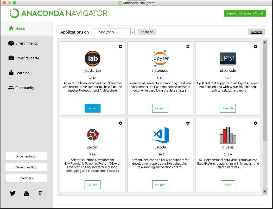 Nun auch im Anaconda Navigator zu finden: Der Visual Studio Code Editor von Microsoft. (Bild: Microsoft)