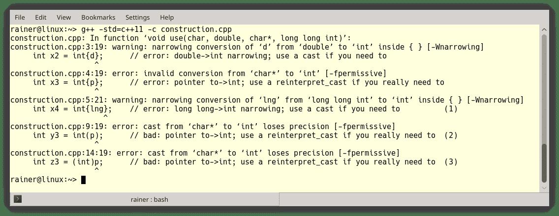 C++ Core Guidelines: Regeln für Anweisungen
