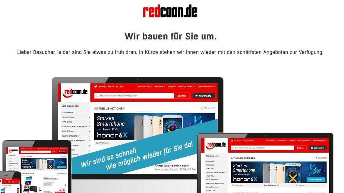 Entlassungen und Webseiten-Relaunch: Umbau bei Redcoon