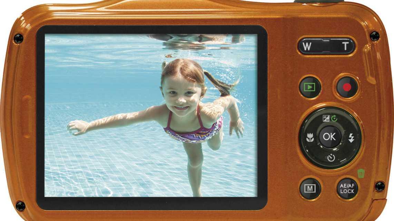 Rollei Sportsline 100: Kleine Kompakte für den Strand