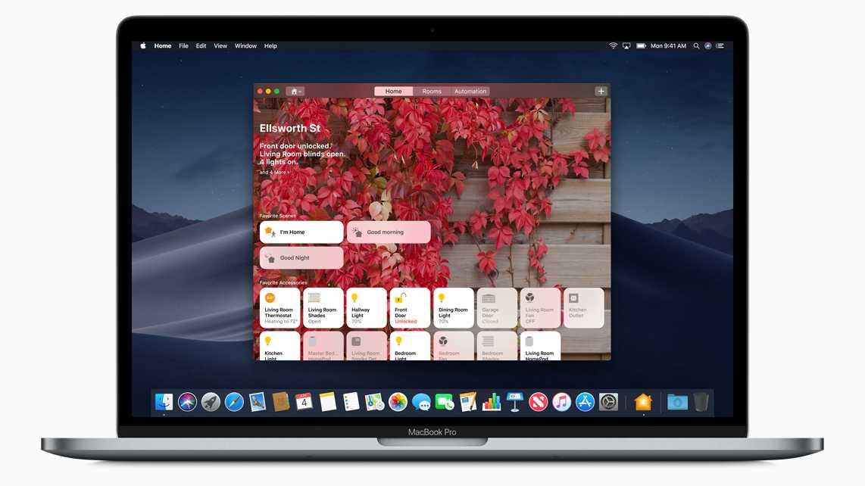 Home-App macOS Mojave