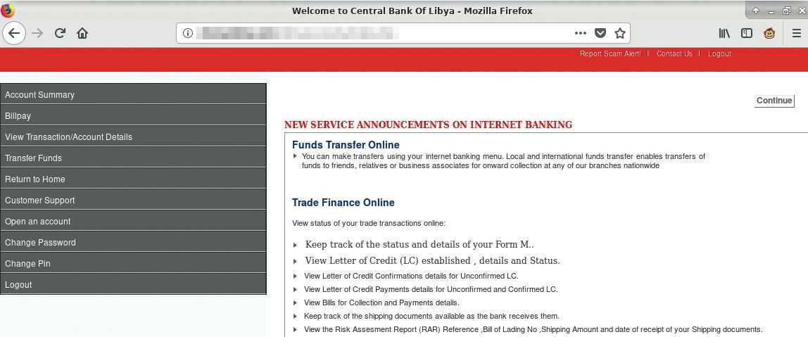 Bei der gefakten Banking-Website hat sich der Betrüger nicht viel Mühe gegeben. Ich ließ mich trotzdem darauf ein.