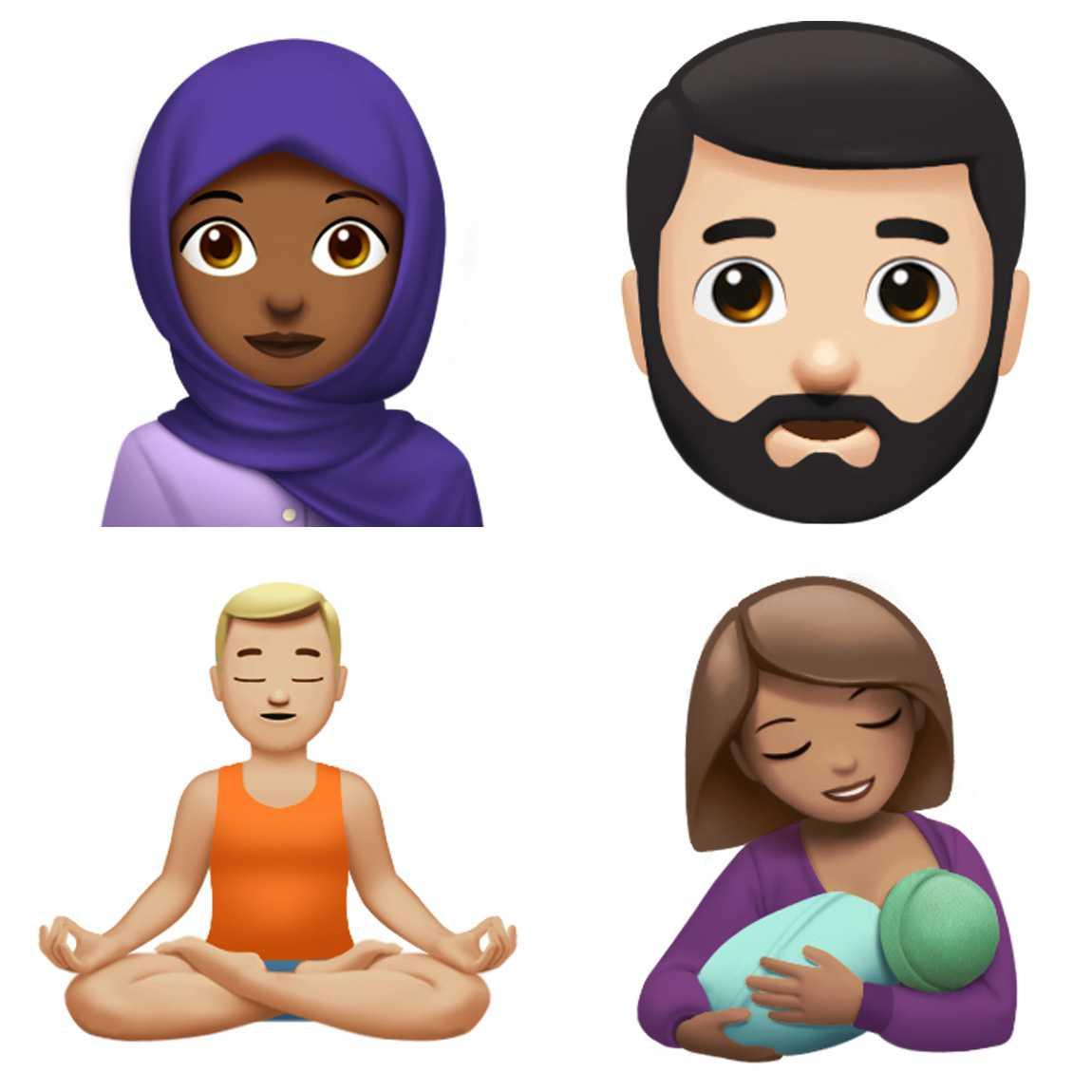 Emojis in iOS 11
