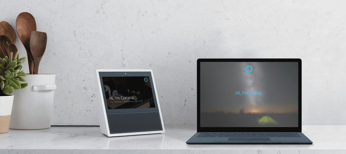 Sprachassistenz: Alexa und Cortana reden testweise miteinander