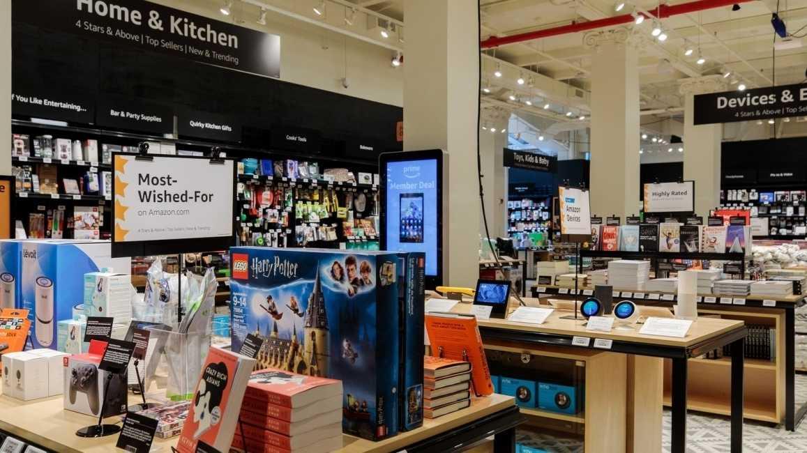 4-star: Amazon eröffnet Ladengeschäft in New York