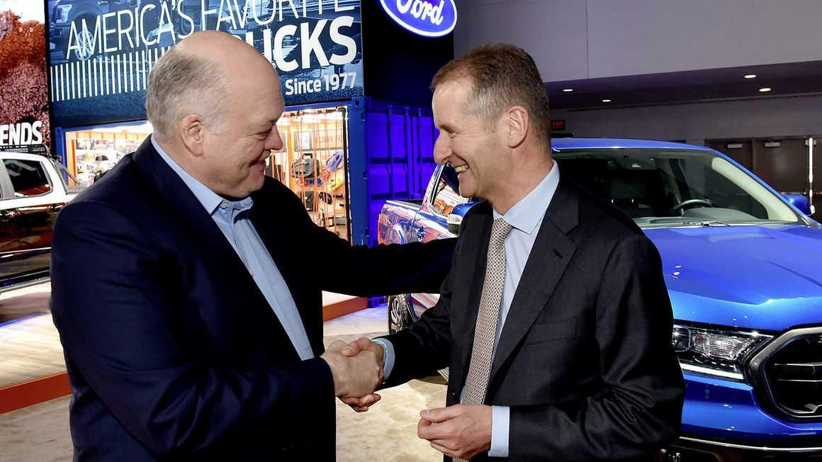 Volkswagen und Ford schmieden Allianz