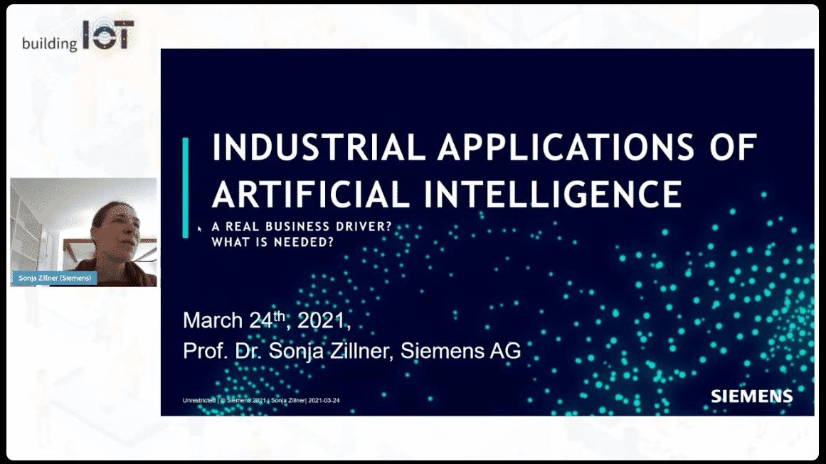 Dr. Sonja Zillner: Künstliche Intelligenz in der Industrie