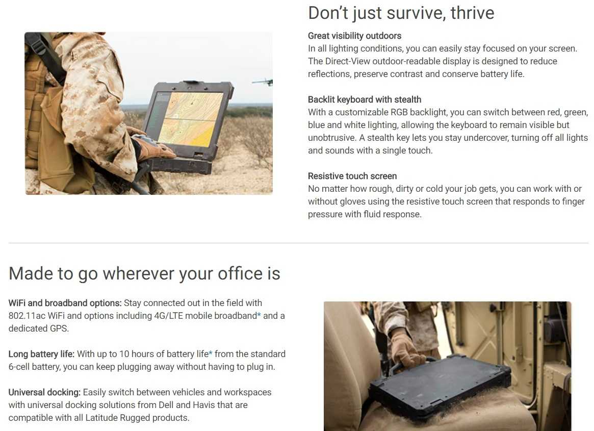 """Dell Latitude 14 Rugged Extreme 14"""" Notebook"""