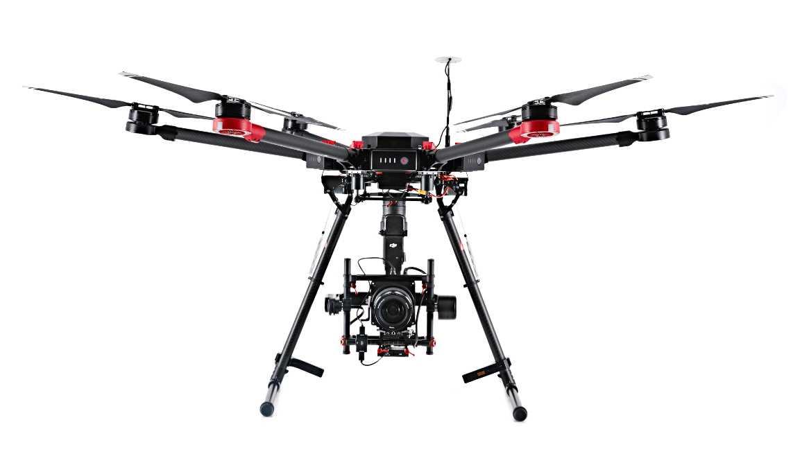 DJI und Hasselblad stellen mit M600 und A5D erstes gemeinsames Luftbildsystem vor