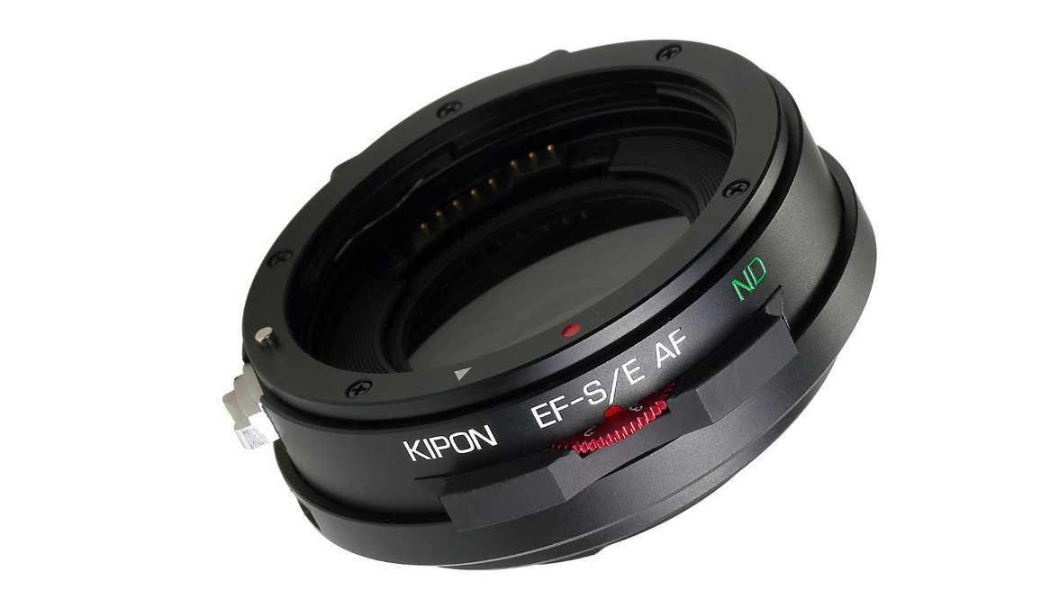 Kipon-Adapter für Canon-EF-Objektive an Sony-E-Bajonett-Kameras