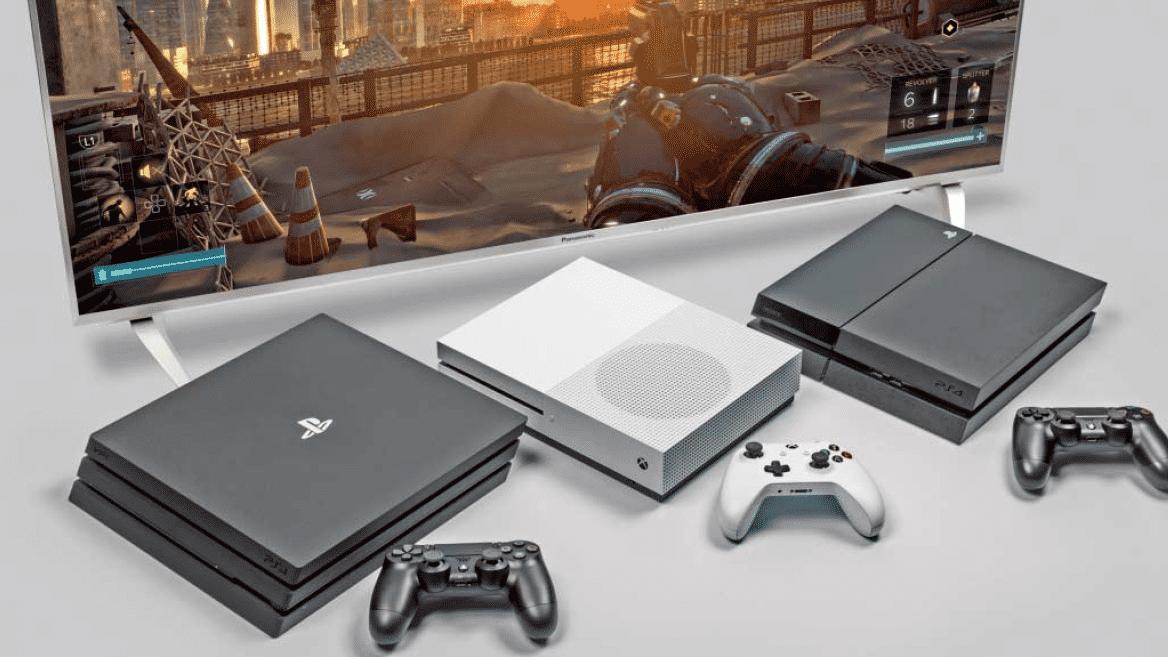 Die Spielkonsolen Xbox One S und PS4 im Vergleich