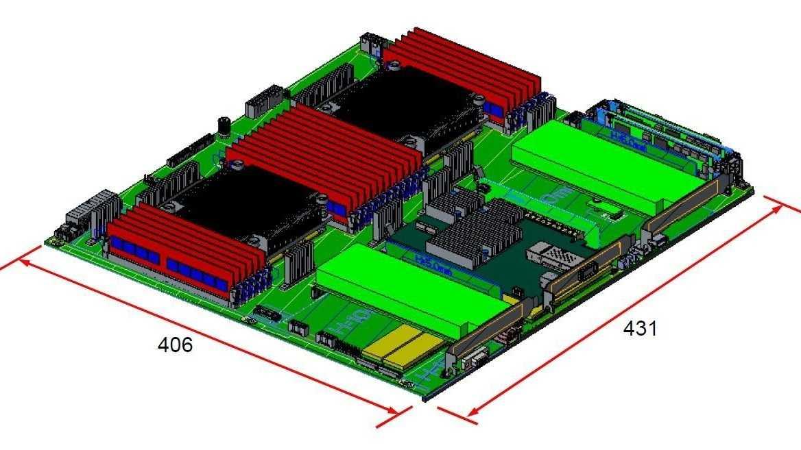Microsoft Project Olympus: Board mit Cavium ThunderX2