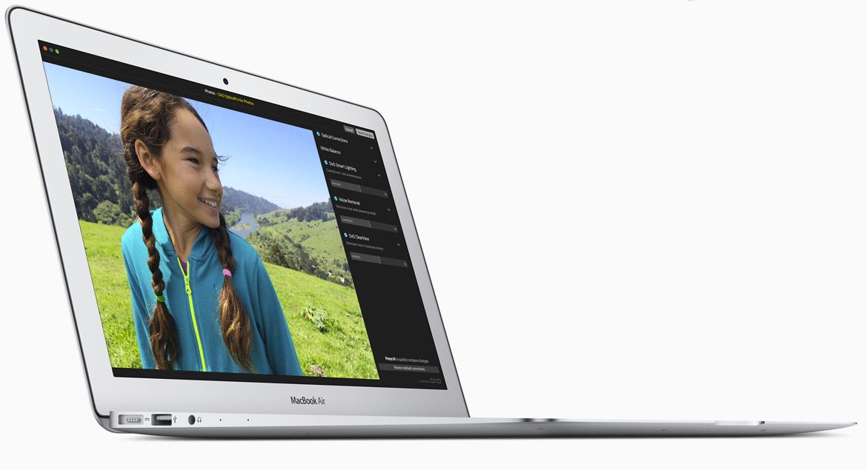 Die Aktualisierung des MacBook Air kam unerwartet.