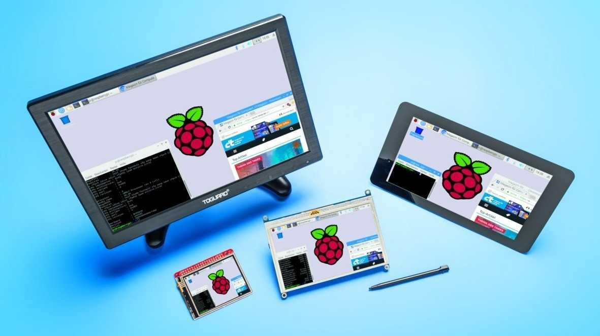 Touch-Displays für Raspberry Pi & Co.