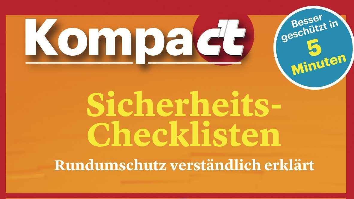 Security-Checklisten gratis zum Download