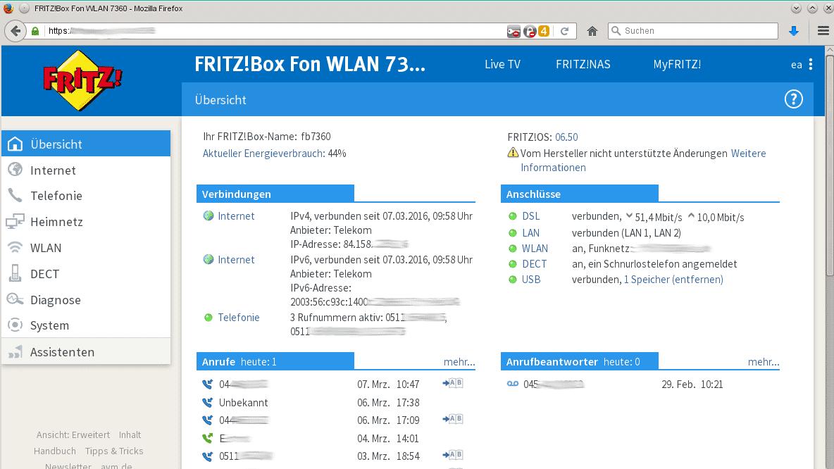 Fritzbox: FritzOS 6.50 für immer mehr Modelle verfügbar