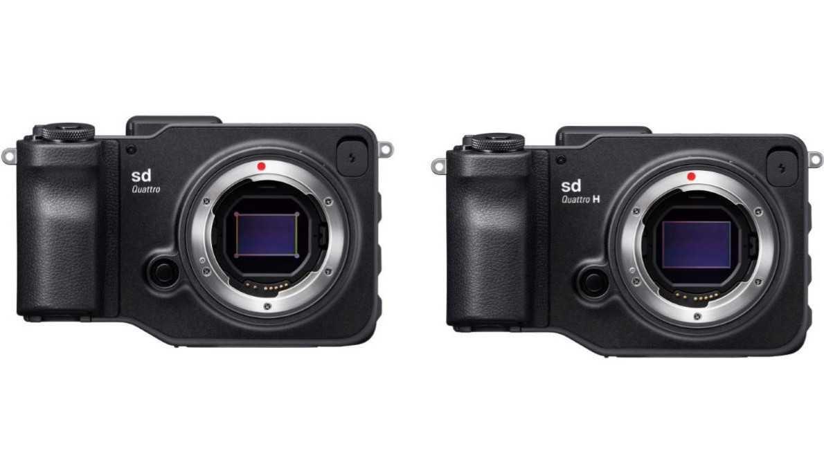 sd Quattro und sd Quattro H - Sigma bringt zwei spiegellose Systemkameras