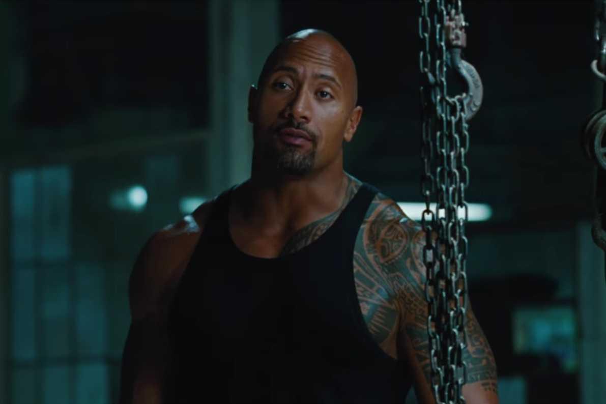 """Dwayne """"The Rock"""" Johnson in G.I. Joe - Die Abrechnung"""