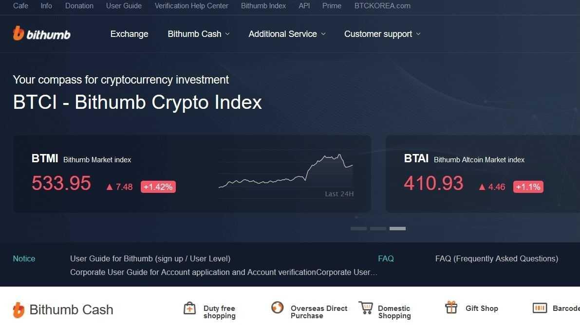 Kryptogeldbörse Bithumb erneut um Millionenbeträge erleichtert