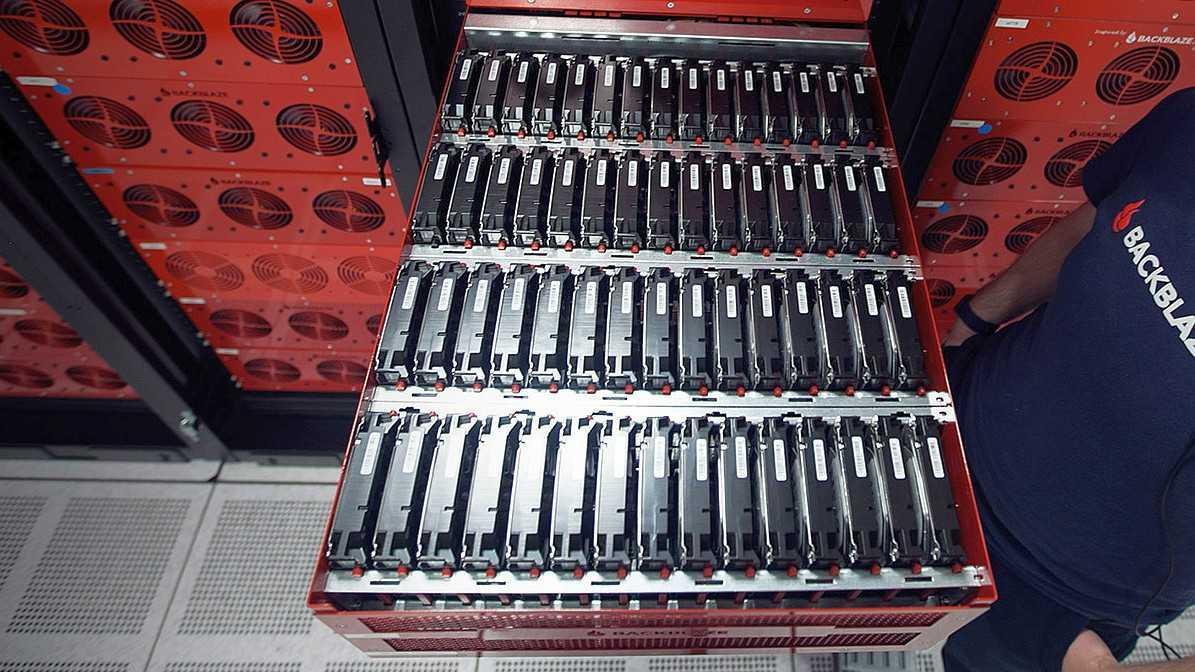Backblaze Storage Pod 6.0