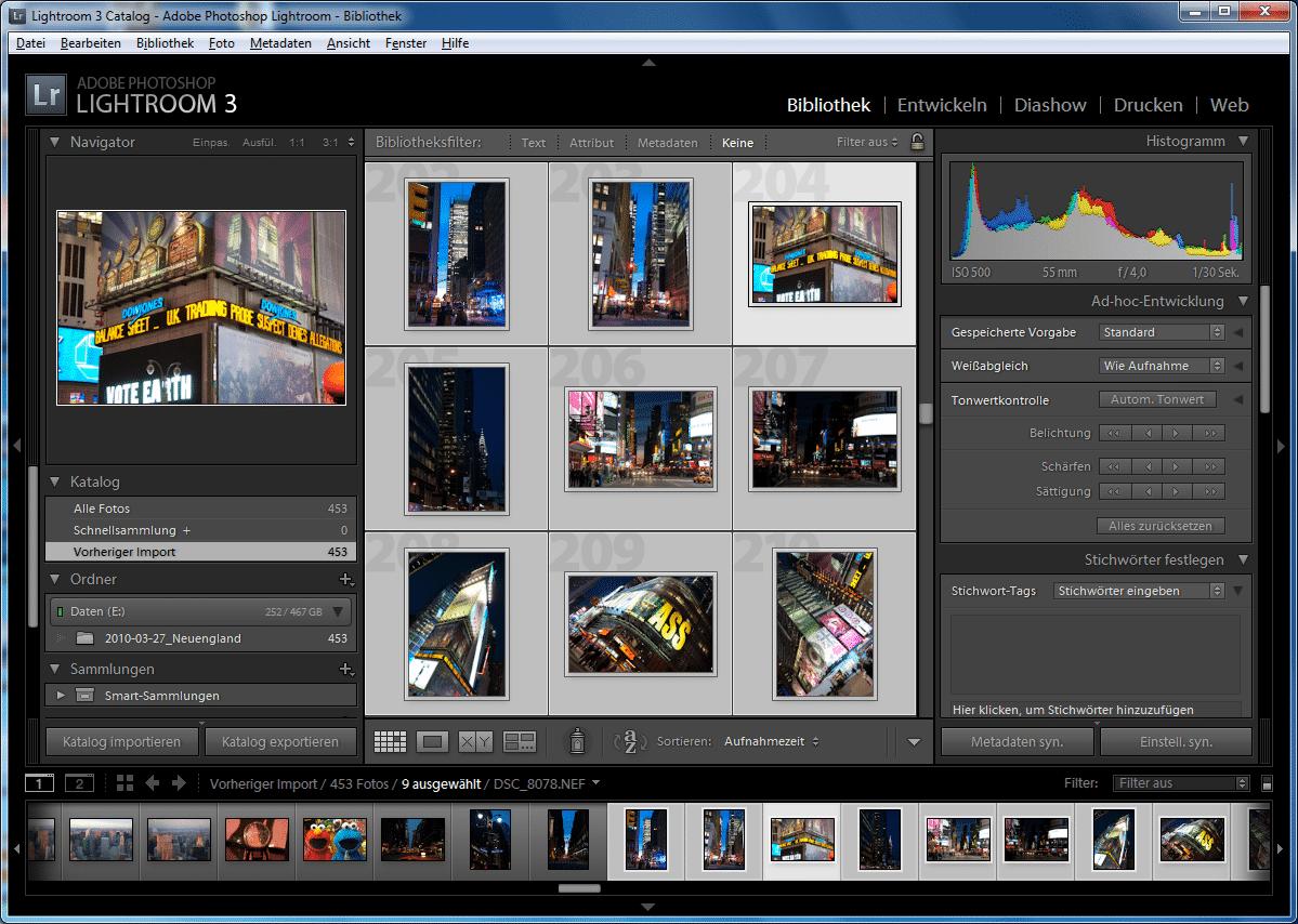 Lightroom 3 soll Fotos schneller verarbeiten als der Vorgänger.
