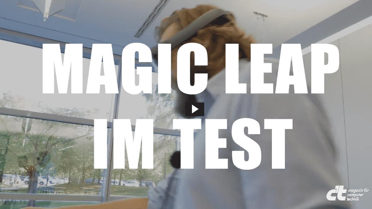 AR-Headset Magic Leap
