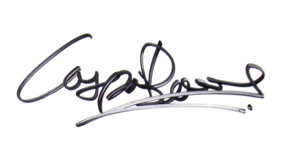 Autogramm Caspar Bowdens