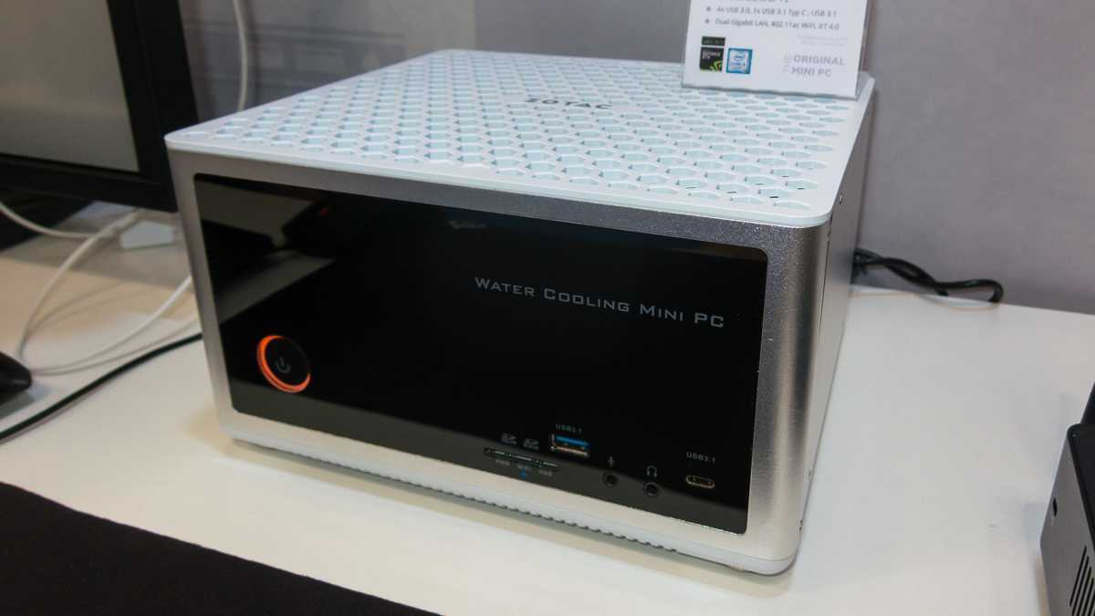 Zotac ZBox Magnus EN980 mit Skylake-Quad-Core und GeForce GTX 980