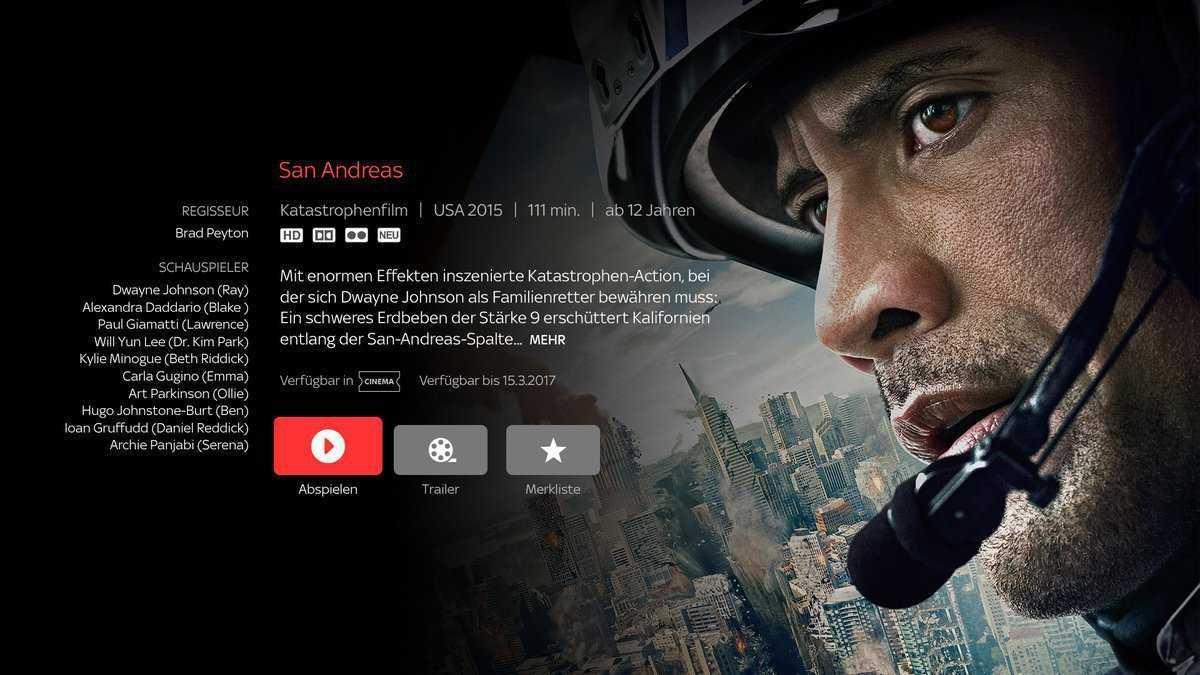 Sky Online auf Apple TV