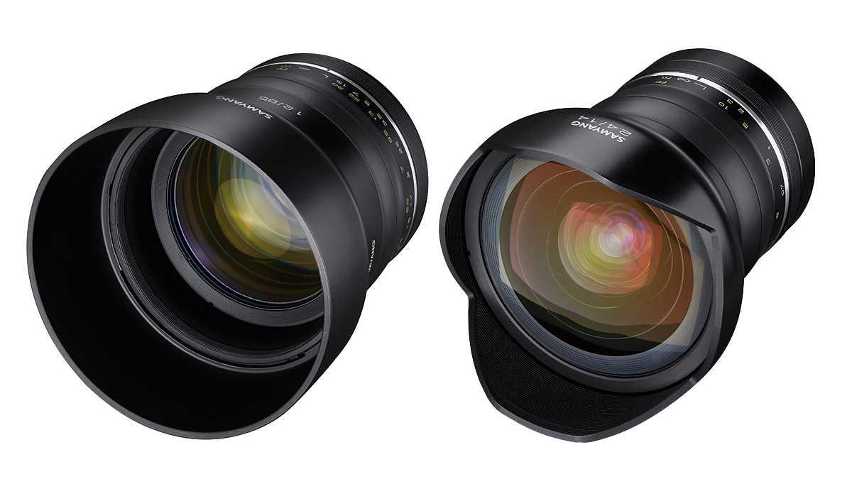 Samyang: Neue Premium-Objektive für Systemkameras