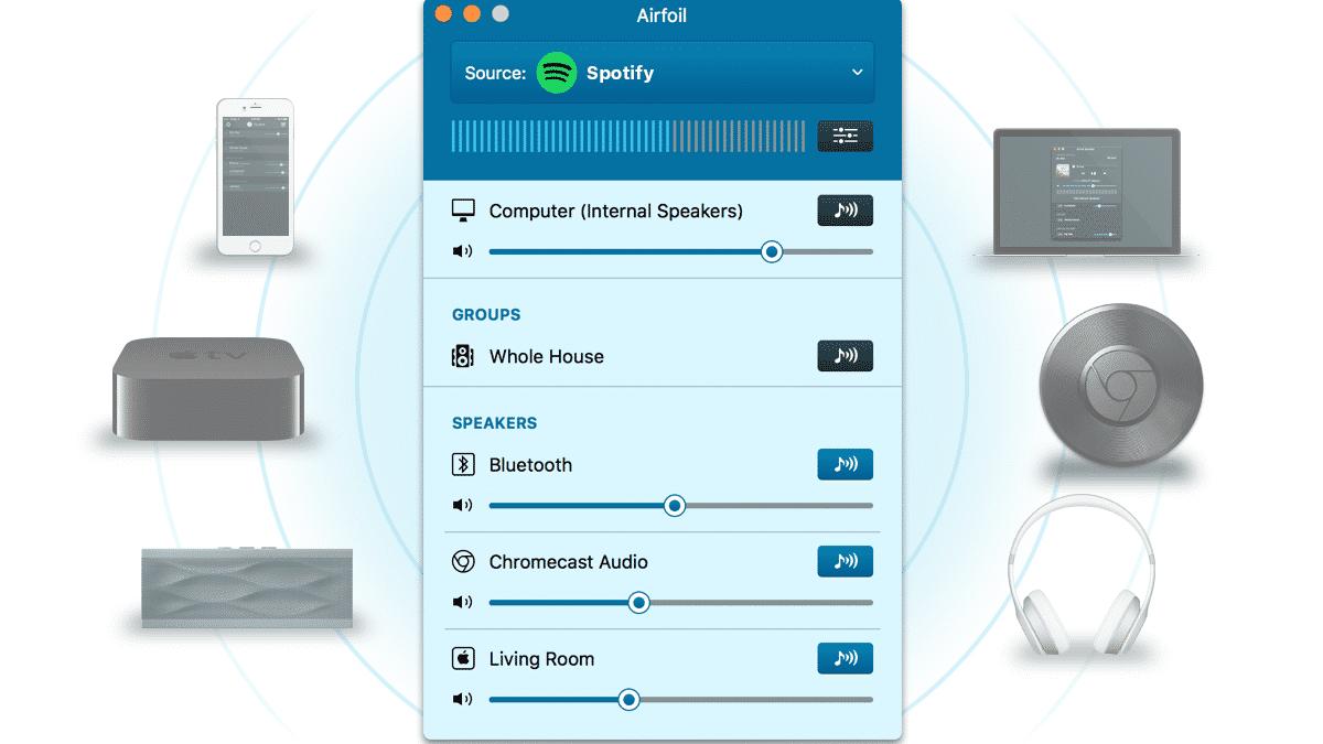 Sendetool Airfoil beherrscht Chromecast