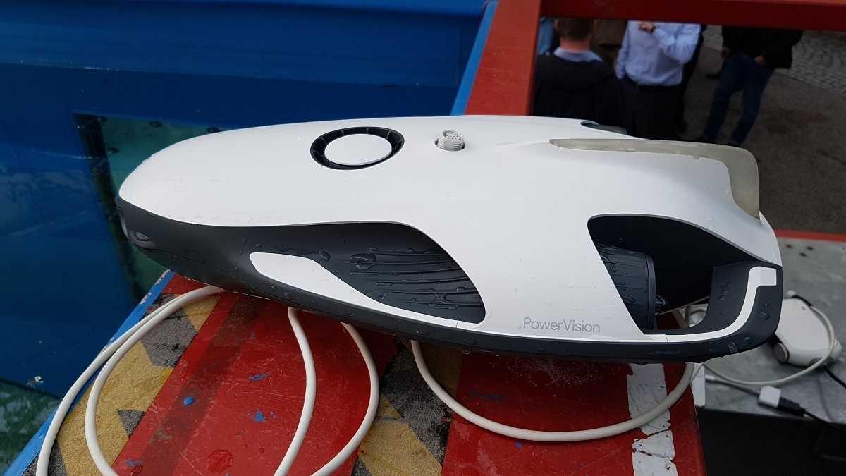 Unterwasser-Drohne PowerRay von PowerVision: Das Auge des Anglers