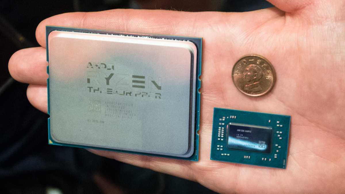 AMD: Erste Benchmarks von Ryzen Threadripper, Ryzen-Mobil-CPUs und Startermine für Vega-Grafikkarte