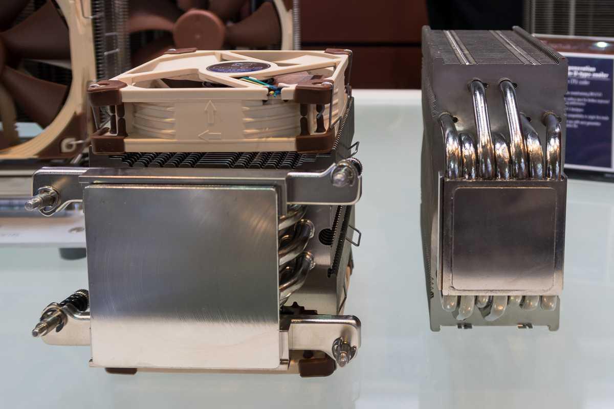 Im Vergleich mit gängigen CPU-Kühlern zeigen sich die Dimensionen von AMDs 16-Kerner.