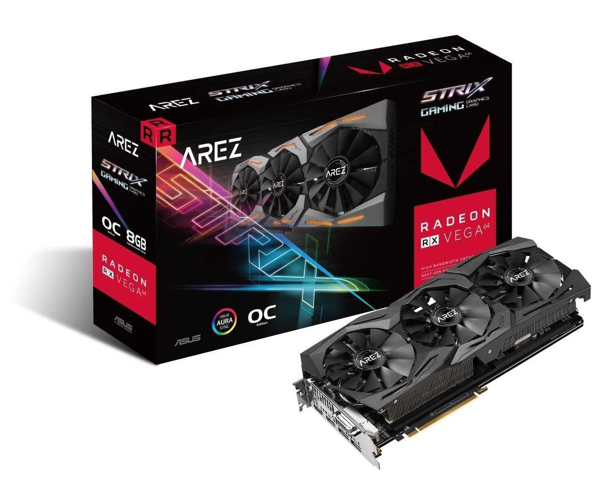 AMD-Grafikkarten führt Asus künftig unter der Markenlinie Arez. In den kommenden Wochen sollen weitere Hersteller AMD-Grafikkarten an neue Marken ausgliedern.