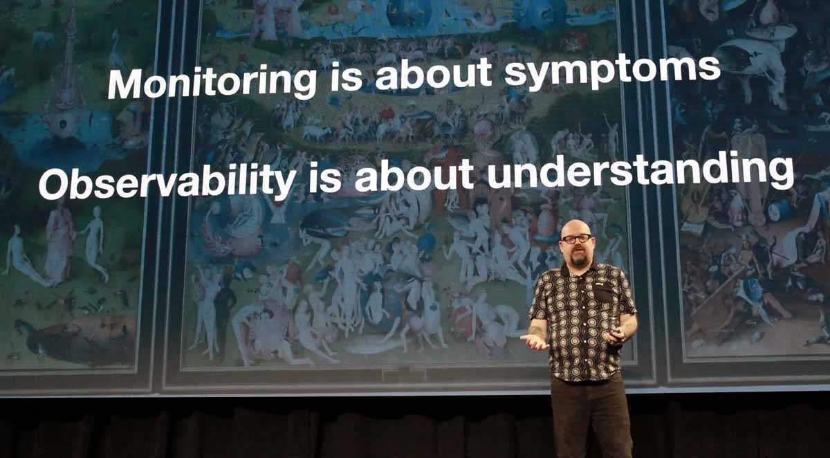 """James Turnbull, CTO bei Empatico und Berater bei Datadog: """"Beim Monitoring geht es um die Symptome, bei der Observability dagegen um das Verstehen."""""""