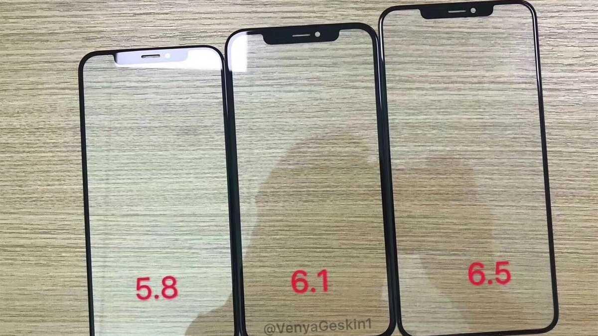 Hardwareleak: Glaspanels der 2018er iPhones kursieren offenbar schon