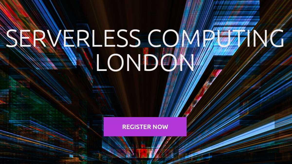 Serverless Computing Londong: Frühbucherrabatt verlängert