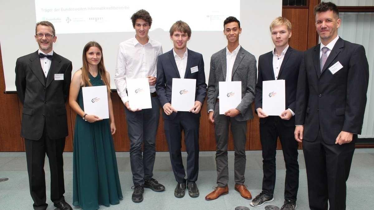 Sieger des 36. Bundeswettbewerb Informatik gekürt