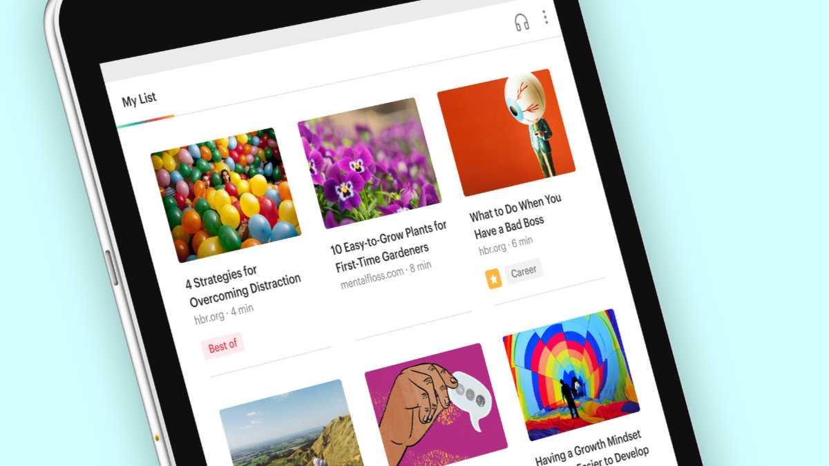 Mozilla veröffentlicht neue Pocket-App