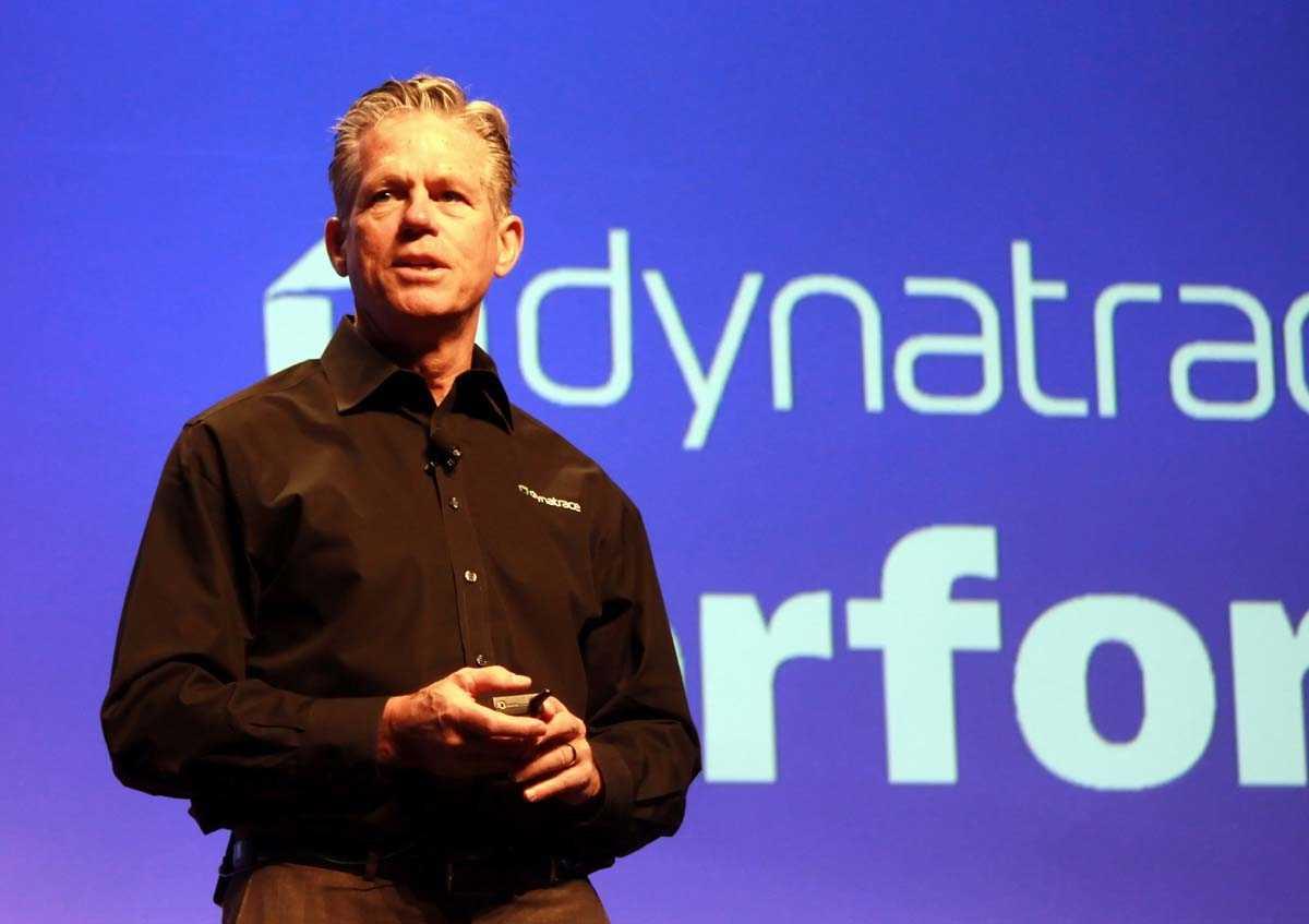 CEO John van Siclen auf der Dynatrace Perform