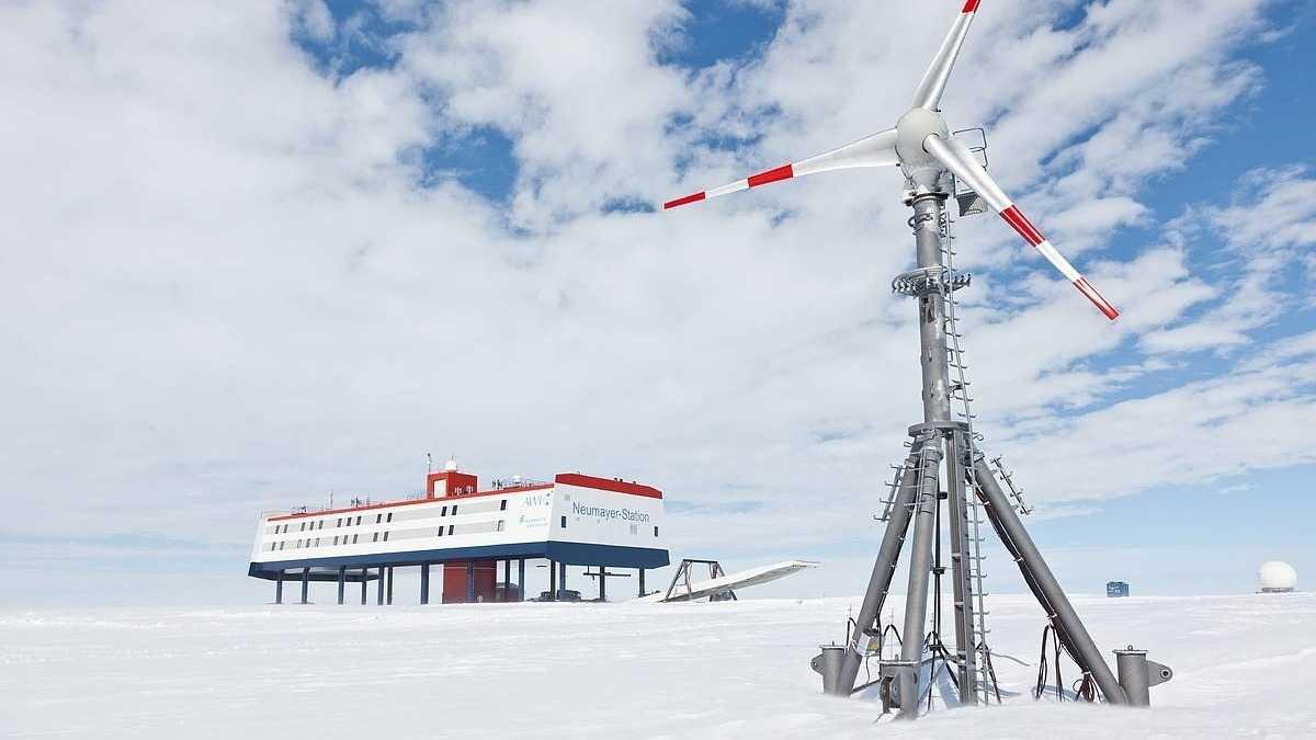 10 Jahre Neumayer III in der Antarktis – Wie im Raumschiff auf Stelzen