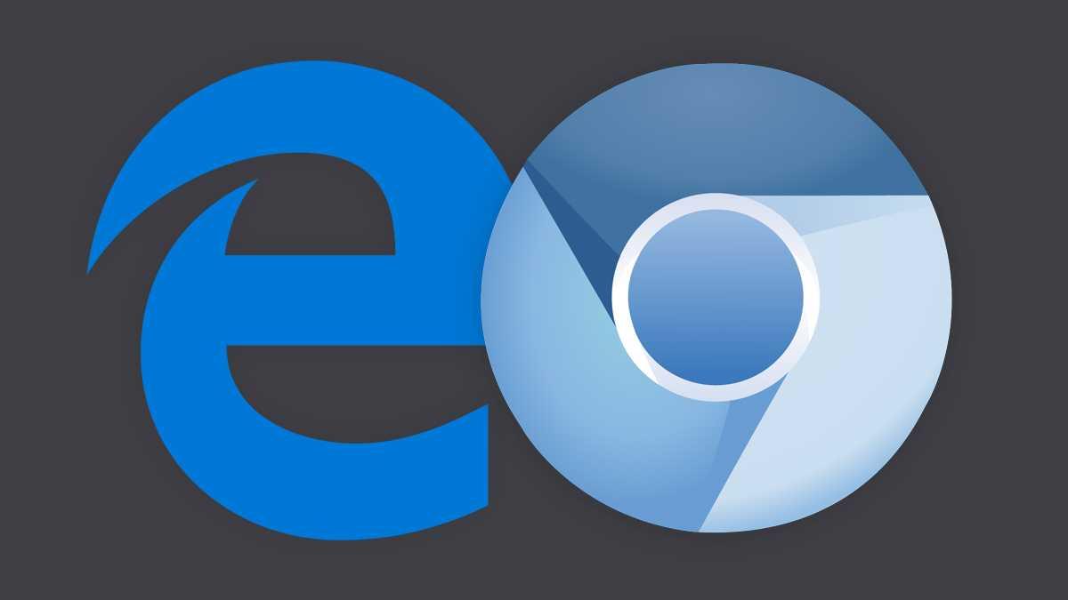Screenshots zeigen Edge-Browser auf Chromium-Basis